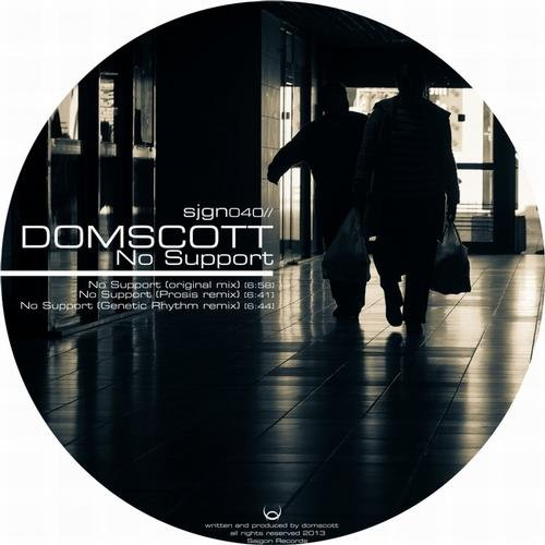 Domscott - No Support (Genetic Rhythm Mix)