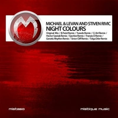 Michael & Levan, Stiven Rivic - Night Colours (Genetic Rhythm Mix)